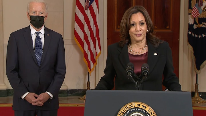 Kamala Harris: Racial injustice 'a problem for every American'