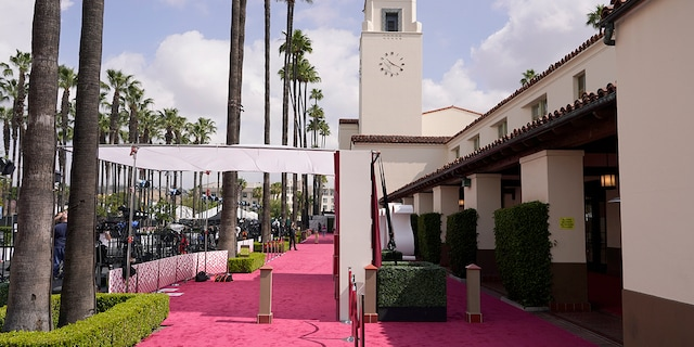 A man was arrested for trying to break into a secure area near the 93rd Academy Awards in Union Station in Los Angeles.