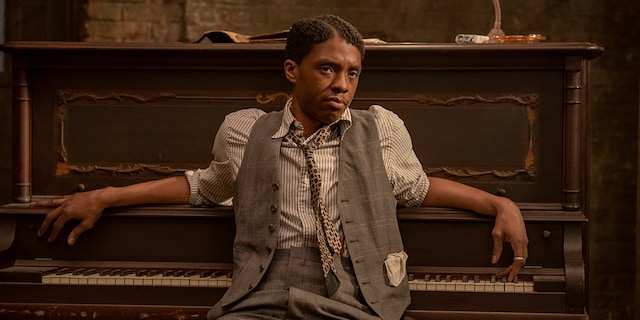 Chadwick Boseman was long considered the heavy favorite to win an Oscar for his performance in Netflix's 'Ma Rainey's Black Bottom.' (David Lee/NETFLIX)