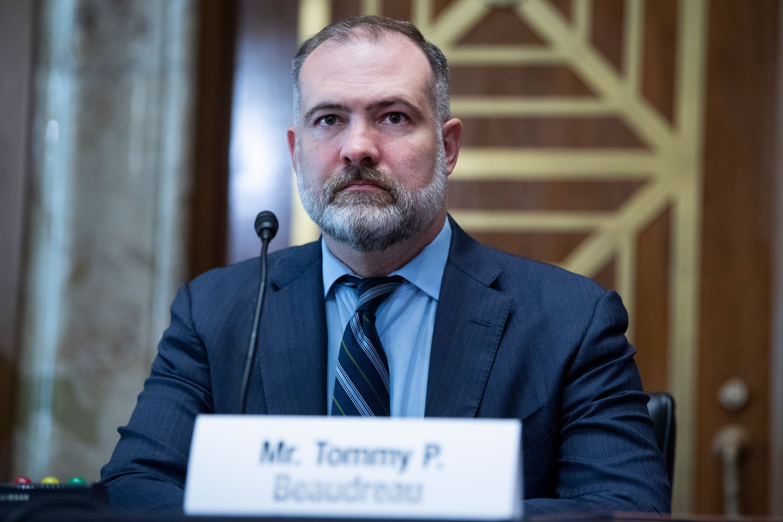 Tommy Beaudreau, President Biden's nominee for deputy interior secretary, had a gentle reception Thursday before the Senate E