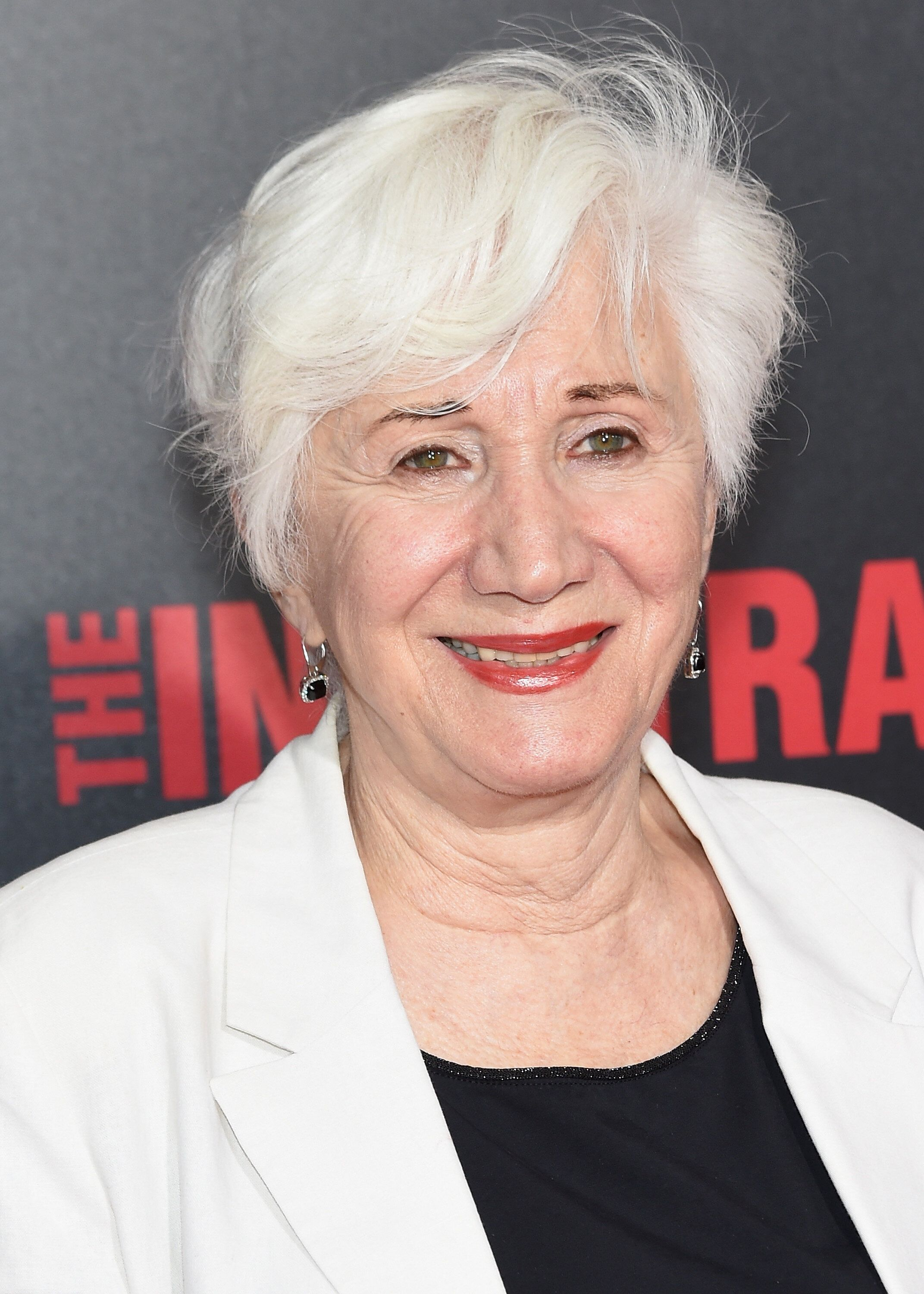 """Olympia Dukakis at the """"The Infiltrator"""" New York premiere in July 2016 in New York City. (Photo by Jamie McCarthy/Getty Imag"""