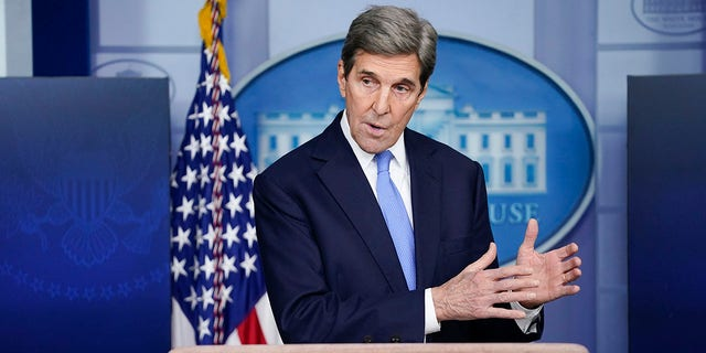 The State Department dragged its feet in releasing climate czar John Kerry's public financial disclosures (AP Photo/Evan Vucci)