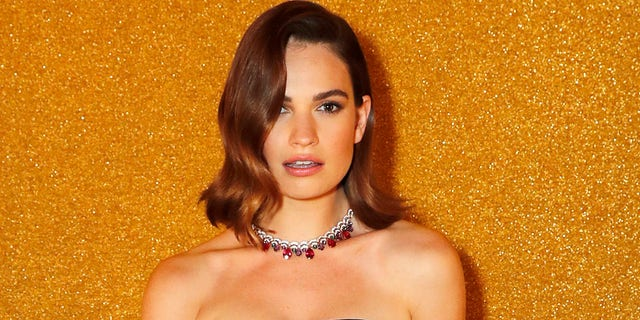 Lily James acknowledged the photo scandal seven months later.
