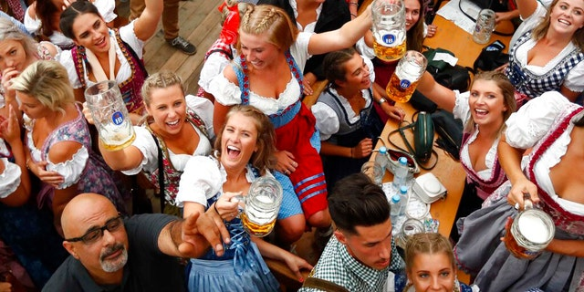 Oktoberfest typically attracts about 6 million visitors from around the world and had been scheduled from Sept. 18 to Oct. 3. (AP Photo/Matthias Schrader, file)
