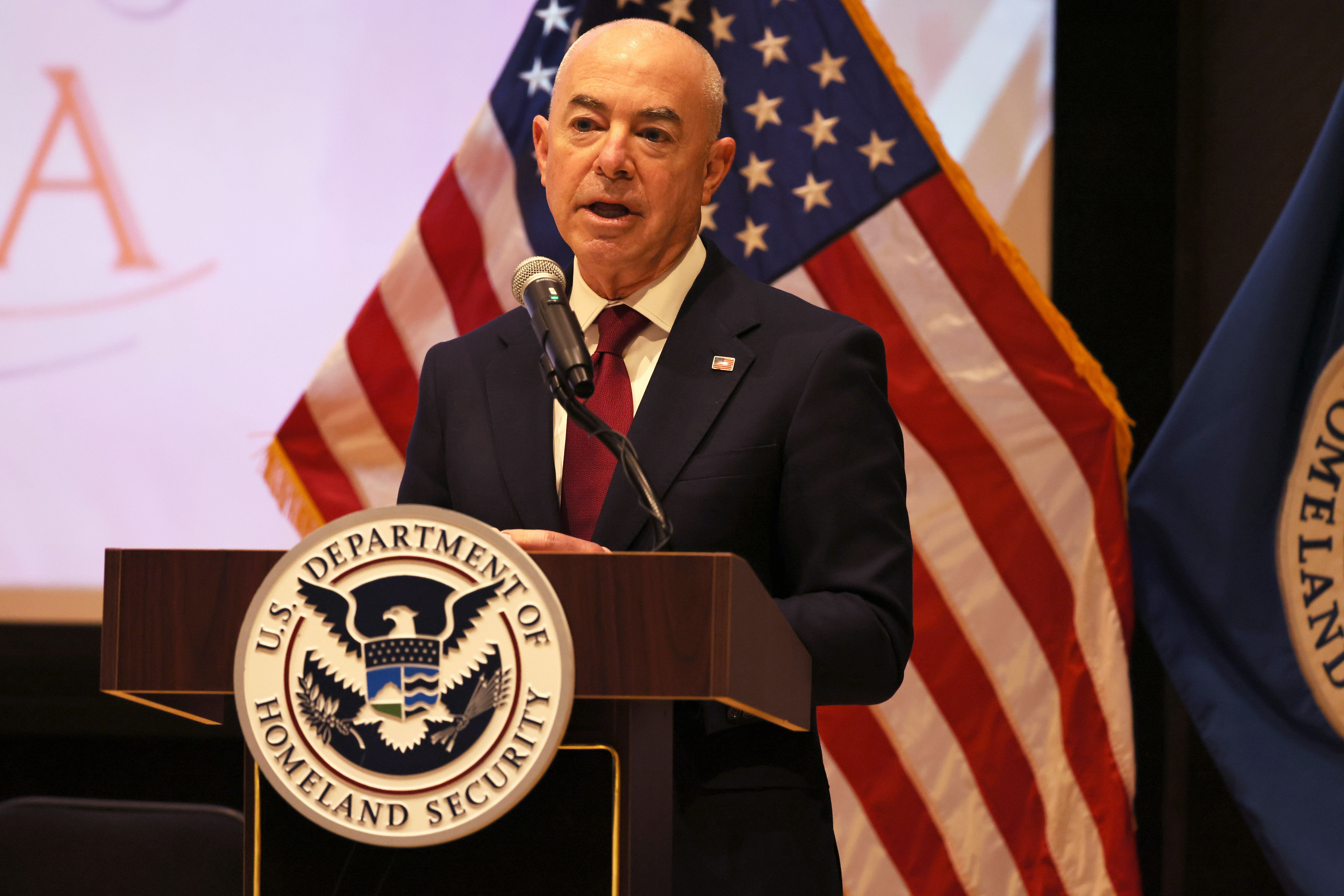 Alejandro Mayorkas, secretary of U.S. Department of Homeland Security, said the effort to reunite separated families is just