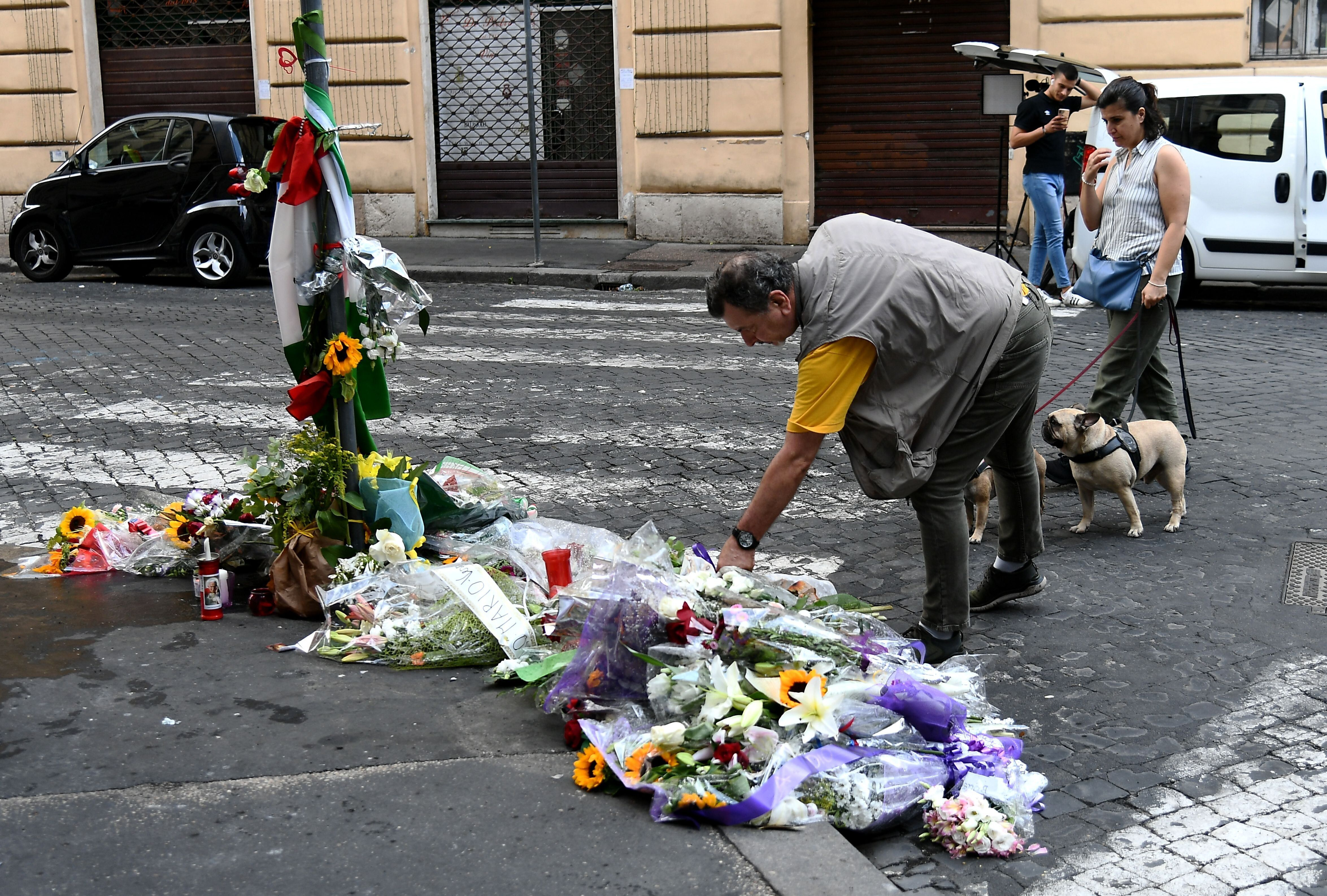 Carabiniere Mario Cerciello Rega died after being stabbed multiple times in a murder that sparked a national outcry.