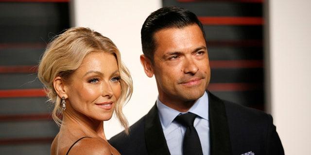 Kelly Ripa and husband Mark Consuelos eloped in Las Vegas on May 1, 1996.