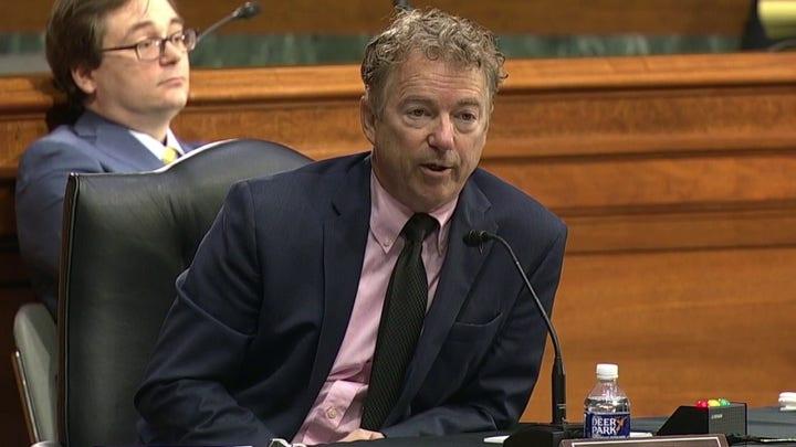 Senator Rand Paul presses Dr. Fauci on COVID origins