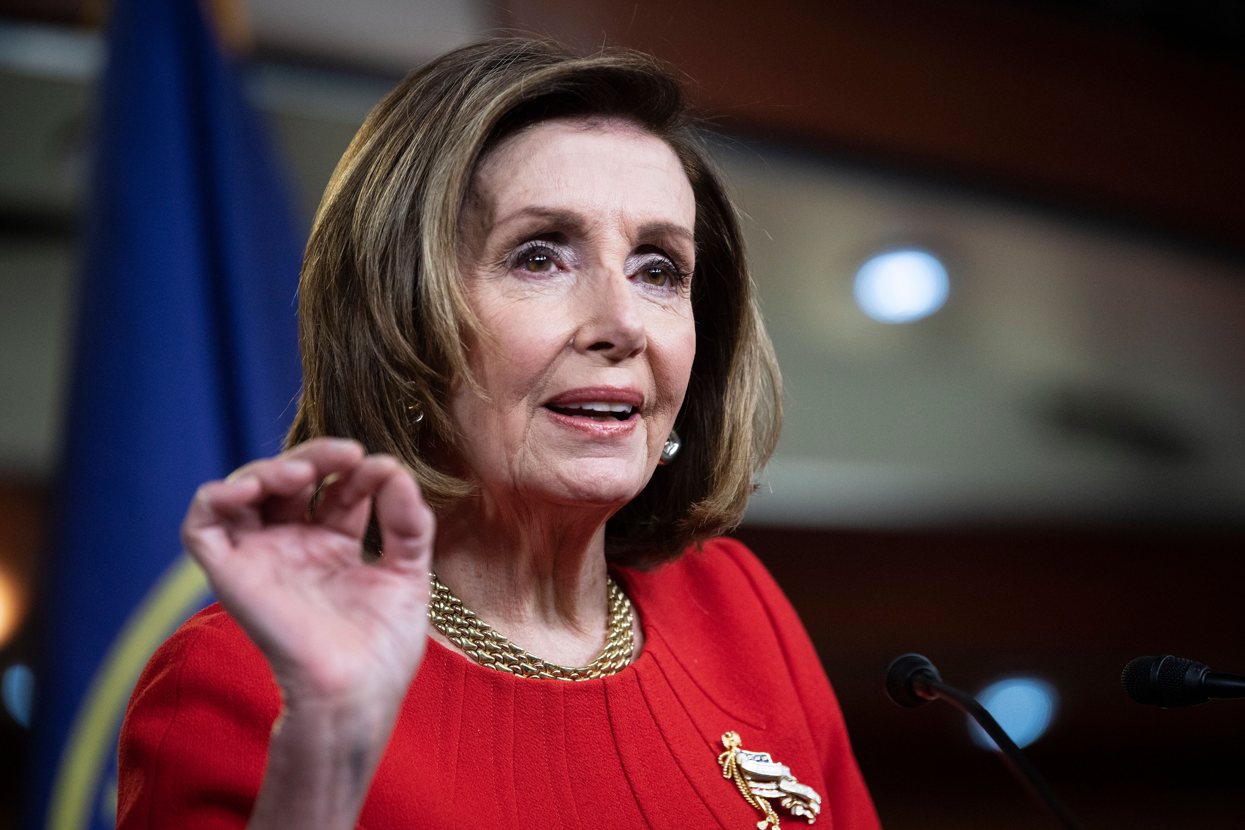 """House Speaker Nancy Pelosi has called GOP spin on the insurrection """"appalling"""" and """"sick."""""""