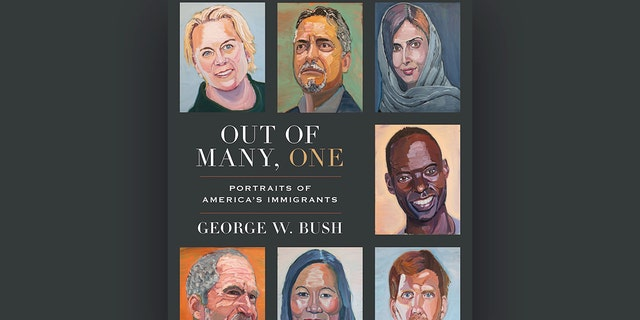 """President George W. Bush's book """"Out of Many, One: Portraits of America's Immigrants"""""""
