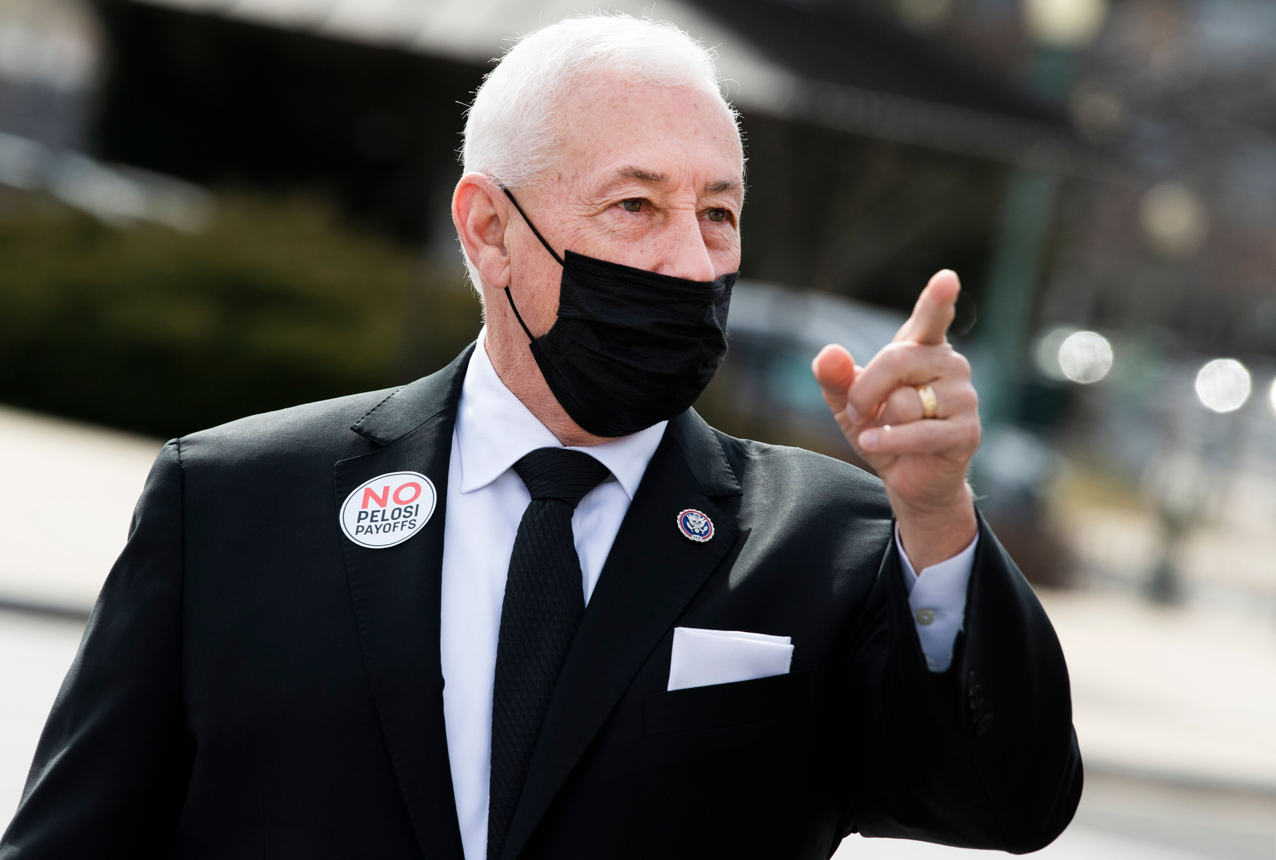 Rep. Greg Pence (R-Ind.) voted against establishing an independent commission to investigate the Jan. 6 attack on the U.S. Ca