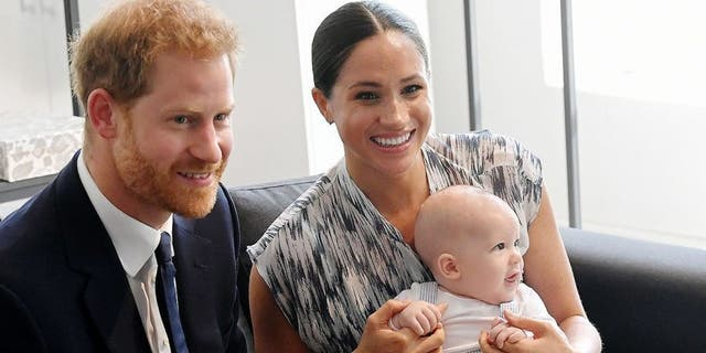 Meghan Markle and Prince Harry now live in California with their son, Archie. They are expecting a daughter imminently. (Getty Images)