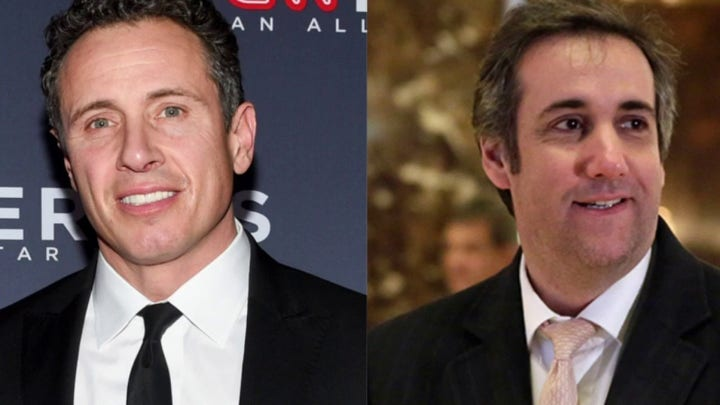 New audio: Chris Cuomo's interview advice for Michael Cohen