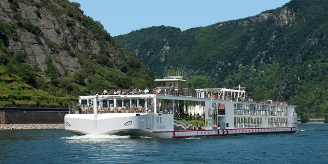 Viking announced that it would resume some European river cruises for vaccinated passengers in July. The cruise line's Longship is pictured on the Rhine.