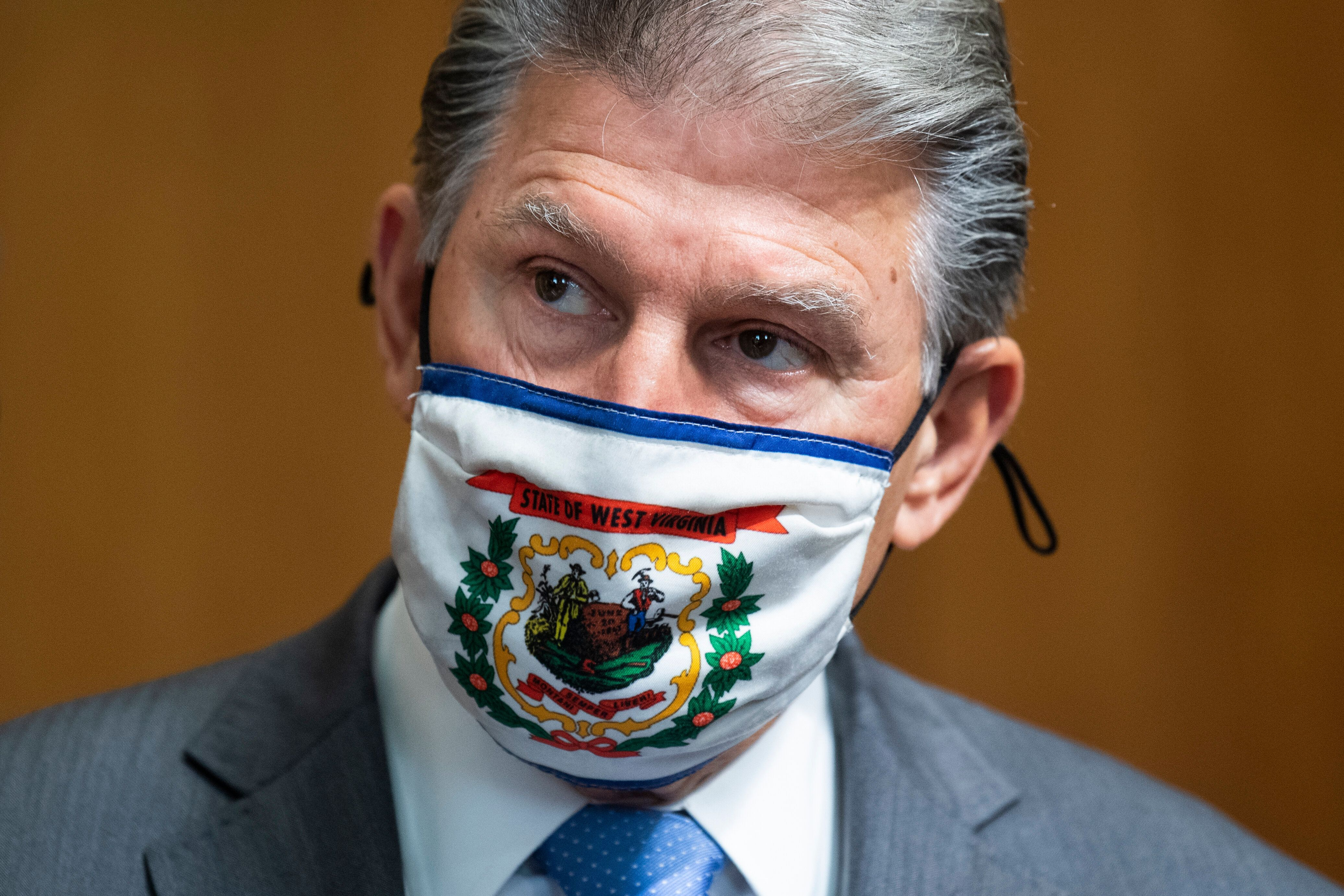 Sen. Joe Manchin (D-W.Va.) wants to do something bipartisan on voting rights, but he can't find more than one Republican to s