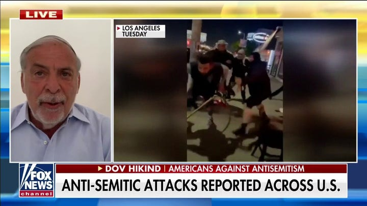 Man arrested for attacking Jewish men in Los Angeles