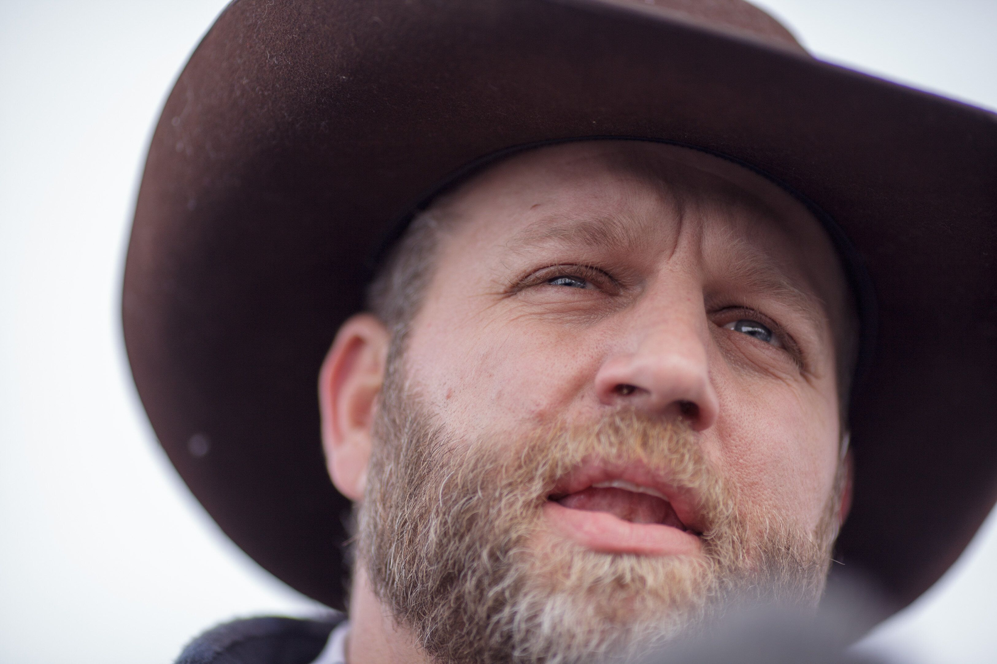 Anti-government agitator Ammon Bundy, who took over Oregon's Malheur National Wildlife Refuge with a band of followers