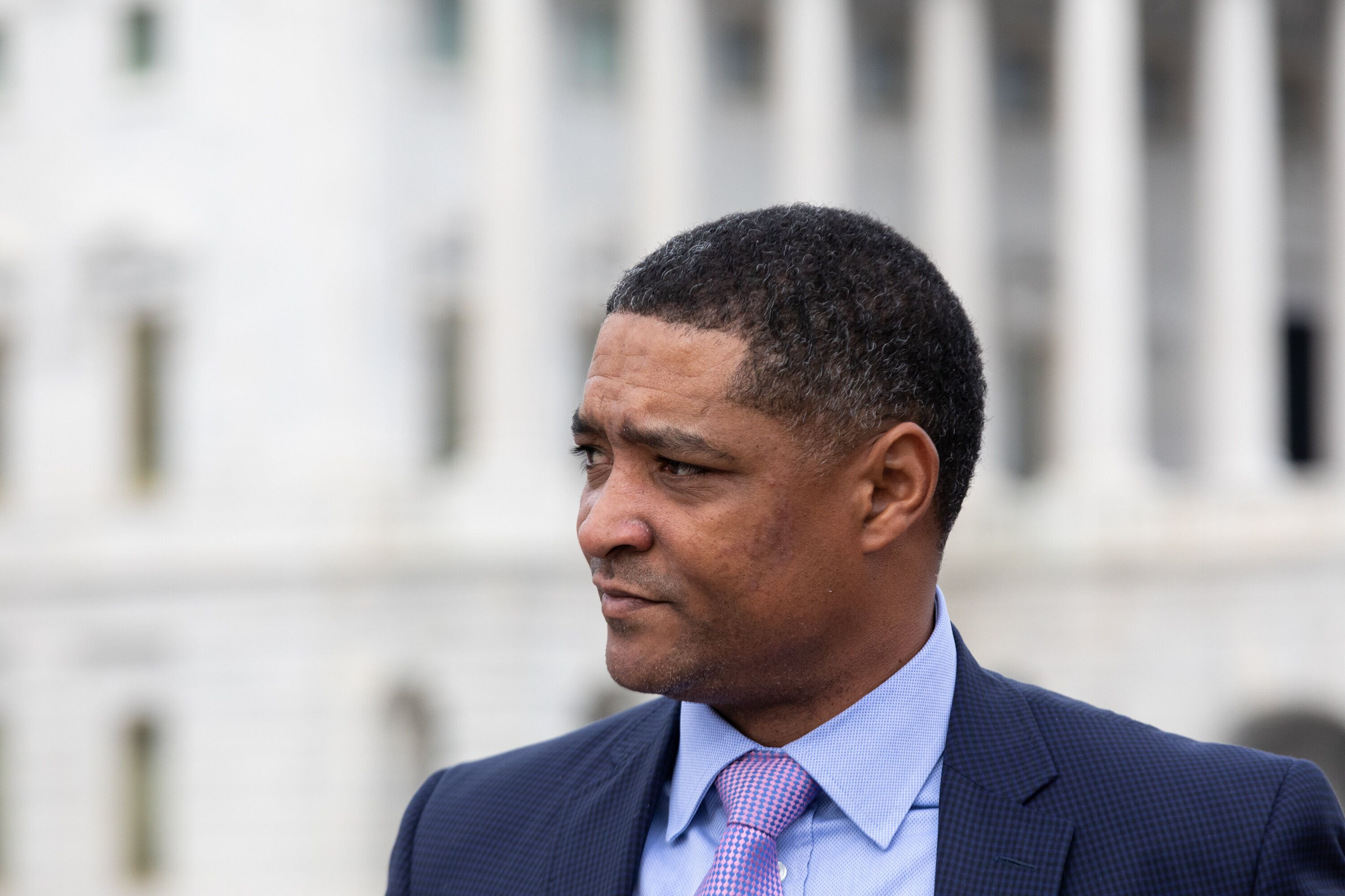 """Cedric Richmond said the White House is not """"setting red lines in public"""" on police reform, but wants to see a """"meaningful bi"""
