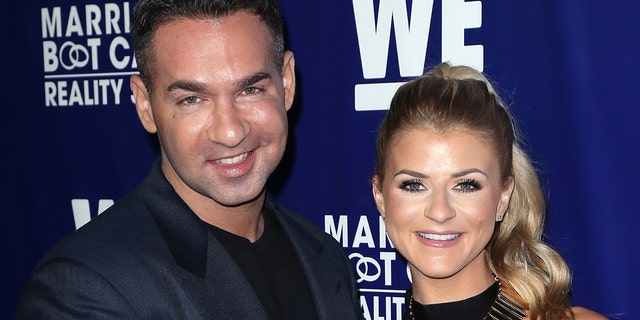 Mike 'The Situation' Sorrentino and Lauren Pesce welcomed a son together. (Getty Images)