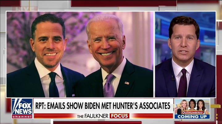 Biden meeting Hunter's associates shocking only to those who rode wave of manipulation and lies: Will Cain