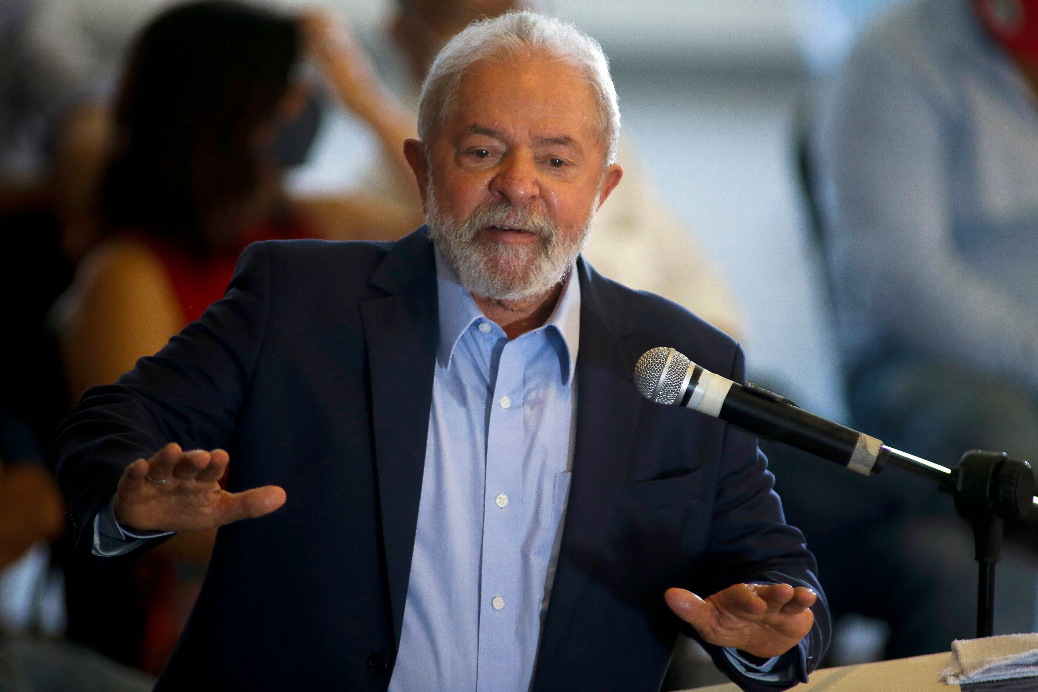 Former leftist President Lula da Silva is likely to run against Bolsonaro in 2022, and early polls have suggested that da Sil
