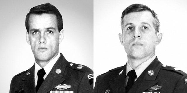 Army Master Sgt. Gary Gordon, left, and Sgt. 1st Class Randall Shughart. (U.S. Department of Defense)