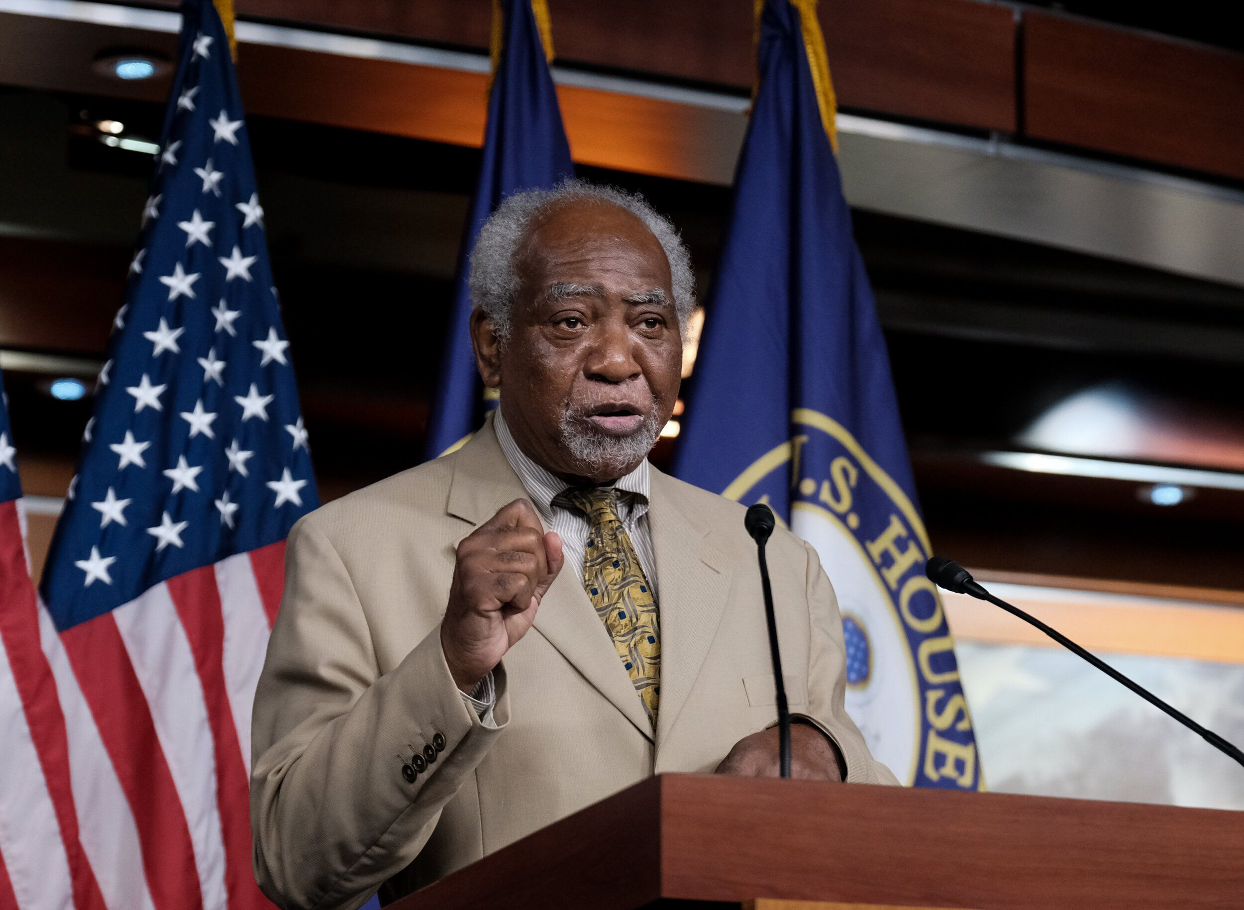Rep. Danny Davis, 79, has represented Chicago's West Side since 1997. His seniority has earned him an influential post on the