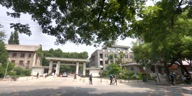 Ding Yanqing is a professor at Peking University, shown here. (Google Maps)
