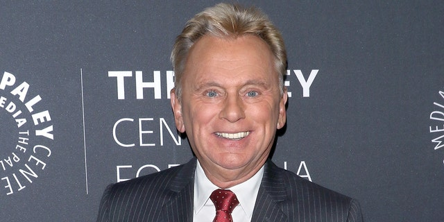 Pat Sajak took time out of 'Wheel of Fortune' to congratulate his son on graduating medical school.