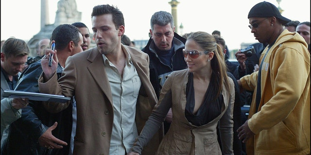 Jennifer Lopez and Ben Affleck were in a relationship from 2002-2004. They were engaged but ended their relationship before marrying.