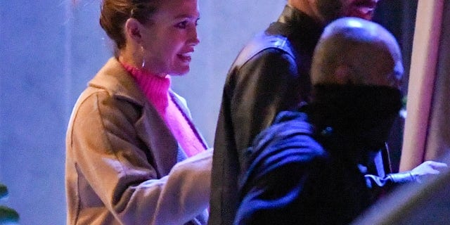 Ben Affleck and Jennifer Lopez spotted on a dinner date in Los Angeles in May.