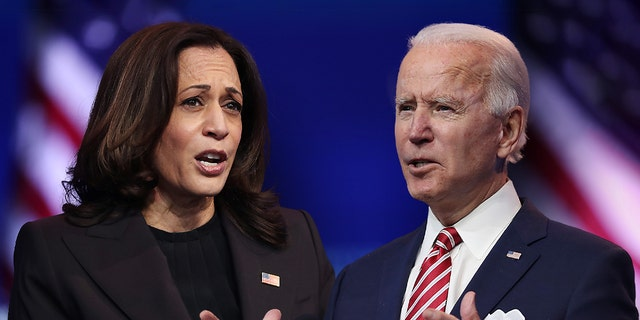 President Biden and Vice President Harris will be leaving the U.S. this week for the first time since taking office in January. (Getty Images)