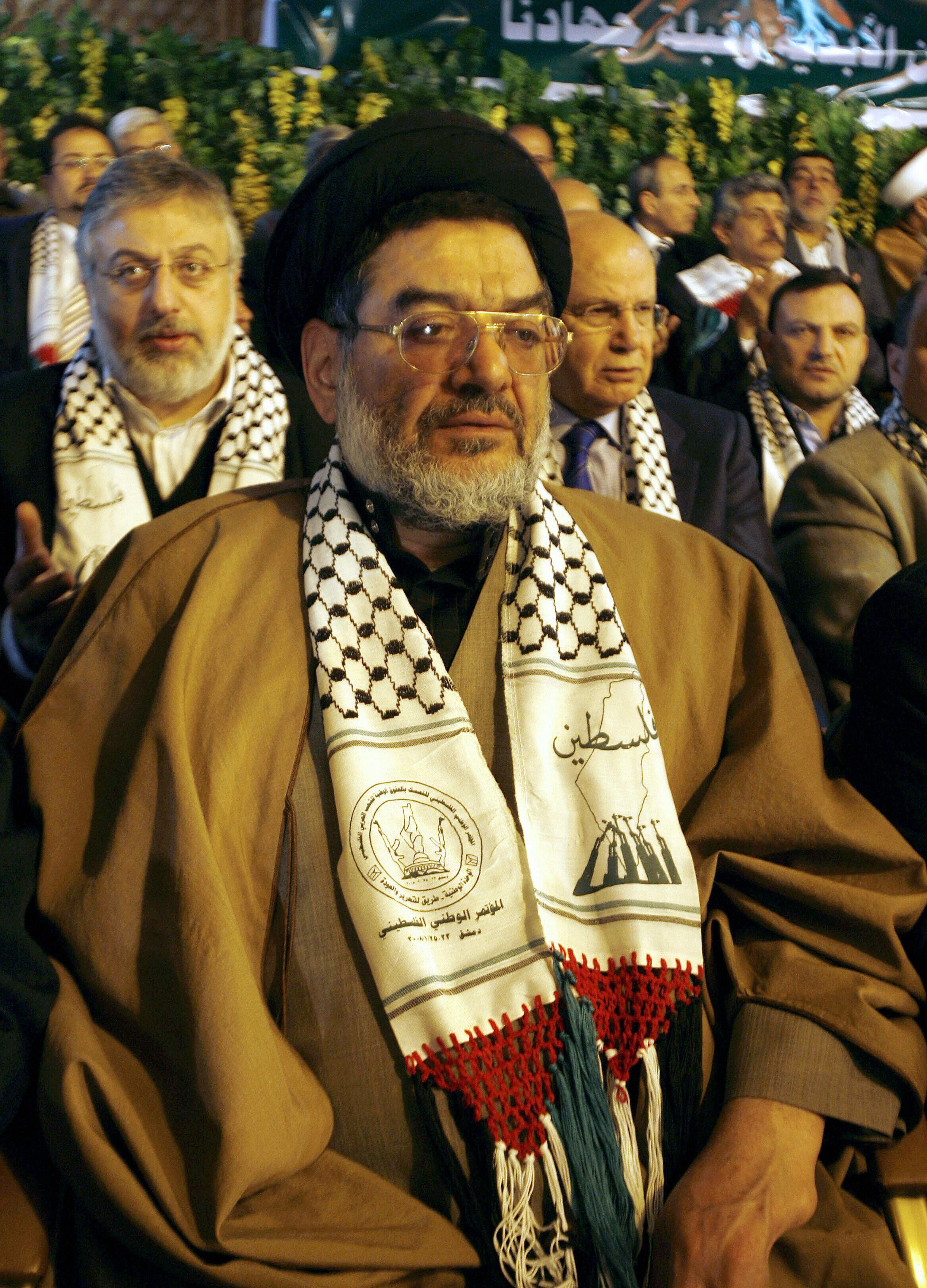 Iranian Ali Akbar Mohtashami, a former Interior Minister and widely recognized as one of the founders of Lebanese Hezbollah,