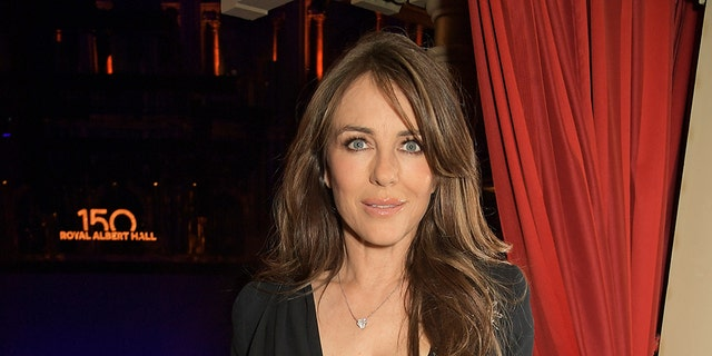 Elizabeth Hurley attends the inaugural British Ballet Charity Gala presented by Dame Darcey Bussell at The Royal Albert Hall on June 03, 2021, in London, England.