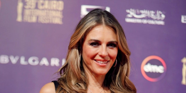 Elizabeth Hurley said being a mom inspired her to launch the swimsuit brand.