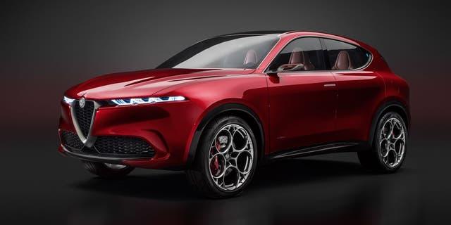 The Alfa Romeo Tonale Concept previews an upcoming subcompact SUV.
