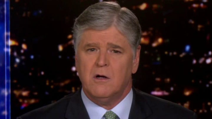 Hannity: Biden administration is 'aiding and abetting' law-breaking