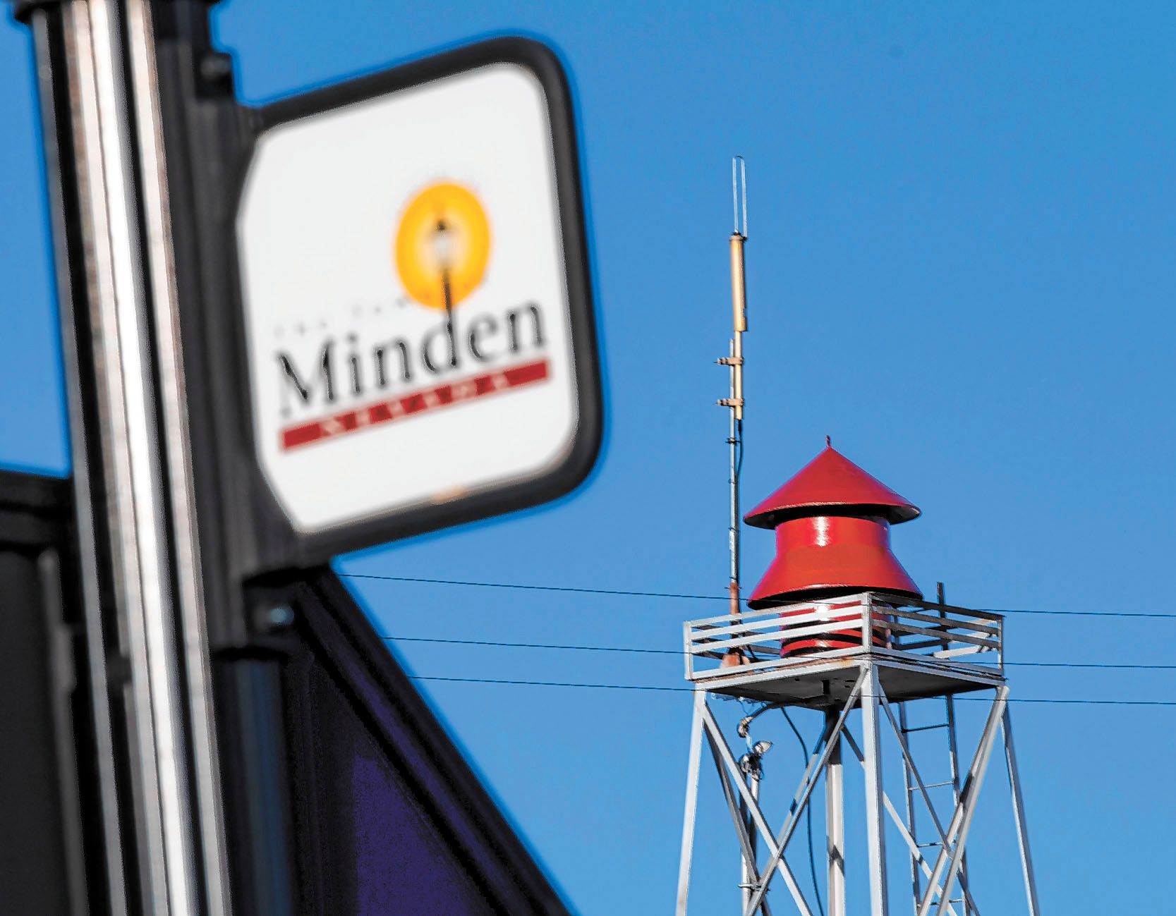 A siren is in Minden, Nevada, continues to be a controversial device, with it going off every day at 6. p.m. Historically, no