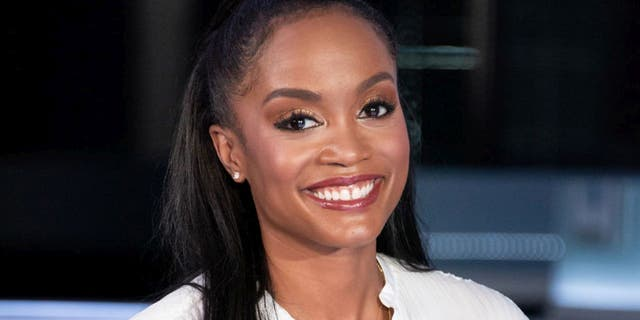 Rachel Lindsay held an interview with Harrison that ultimately resulted in his departure from the 'Bach' franchise. (Photo by Noel Vasquez/Getty Images)