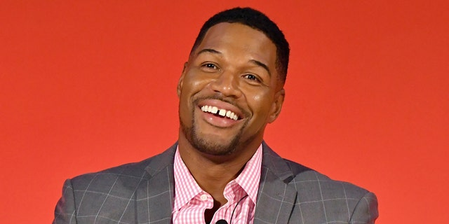 Michael Strahan has become a popular television personality that might host the 'Bach' franchise. (Photo by Slaven Vlasic/Getty Images for Advertising Week New York)