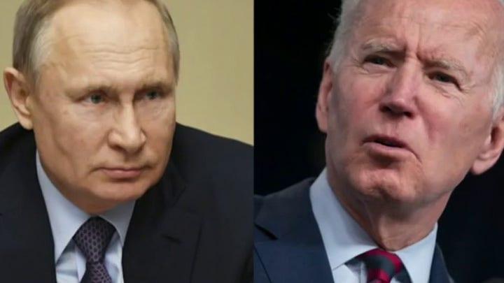Kirk Lippold: Biden emboldening Putin by not answering Russian cyberattacks