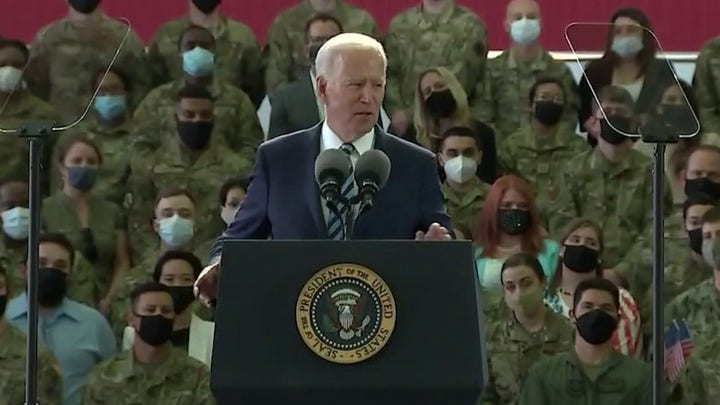 Biden repeats claim that global warming is 'greatest threat' facing America