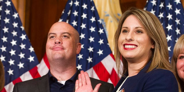 Former Rep. Katie Hill, D-Calif., is weighing another run for Congress. (AP Photo/Cliff Owen, File)