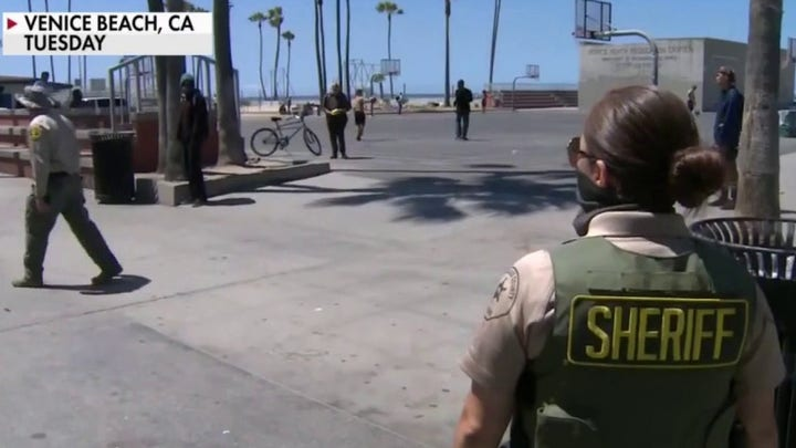 LA County sheriff vows to clear Venice homeless camps after woman pulls knife near mayoral candidate