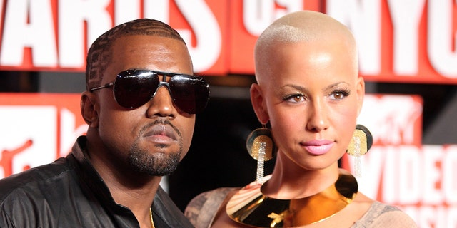 Amber Rose has blamed Kanye West's interest in Kim Kardashian for their breakup. (Photo by Michael Loccisano/Getty Images)