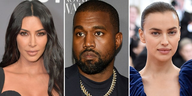 The suitor-approach of Kanye West, middle, to Irina Shayk, right, jibes with how he pursued his now-estranged-wife, Kim Kardashian, left, back in the day.