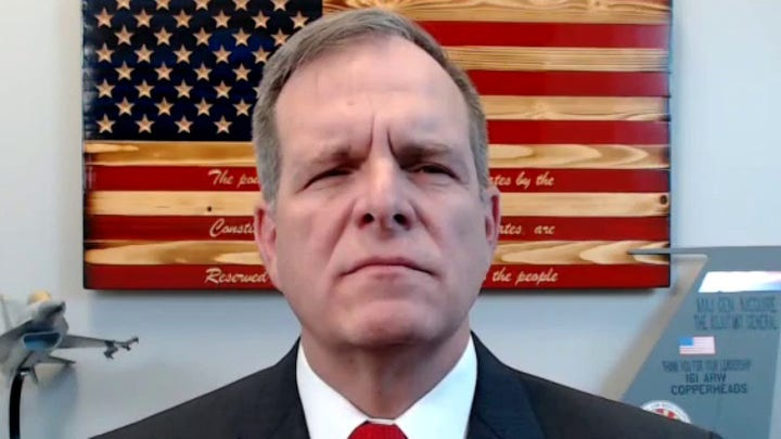 National Guard general announces Senate bid challenging Mark Kelly