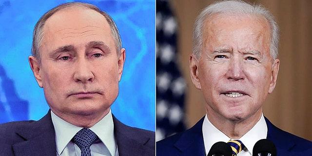 Russian President Vladimir Putin doesn't recall President Biden's often-told story.