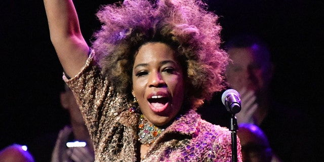 Macy Gray performs in New York City, March 12, 2020. (Getty Images)