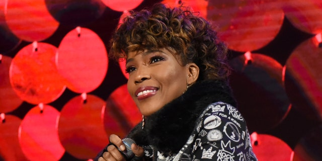Singer Macy Gray suggested the American flag be redesigned. (Photo by Paula Lobo/Walt Disney Television via Getty Images)